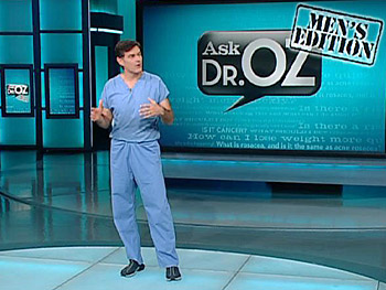 Dr. Oz answers a question about male menopause.