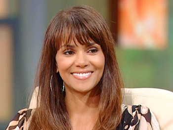 Halle Berry talks about finding out she was pregnant.