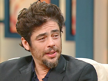 Benicio Del Toro talks about acting.