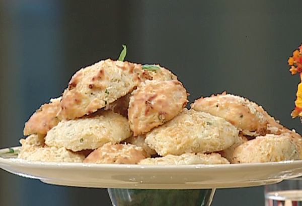 Art Smith's Goat Cheese Drop Biscuits recipe