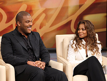 Tyler Perry and Janet Jackson