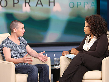 Sinéad O'Connor and Oprah