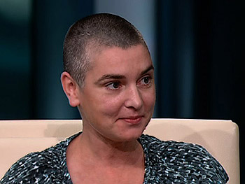 Sinéad O'Connor says music was her outlet.