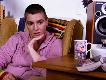 Sinéad O'Connor at her home in Ireland