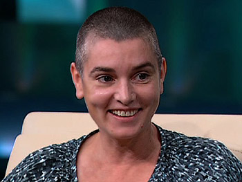 Sinéad O'Connor talks about media pressure