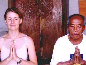 Liz and Ketut Liyer