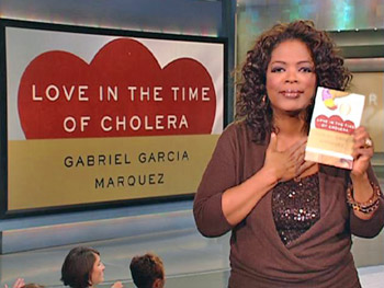 Oprah announces her fall book club selection.