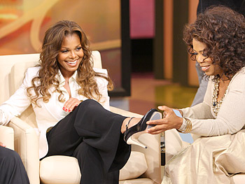 Janet Jackson and Oprah