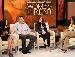 Lisa Ling talks about surrogate mothers in India.