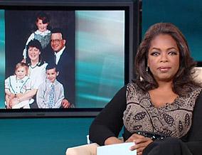 Oprah reads Zachary's letter.