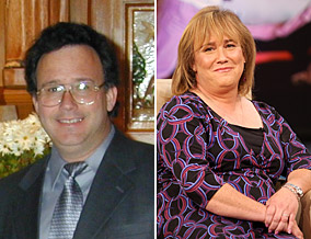 Don (left) transitioned into a woman named Denise (right).
