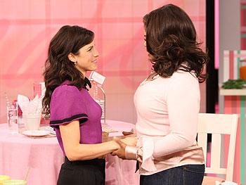 Jessica Seinfeld and Oprah