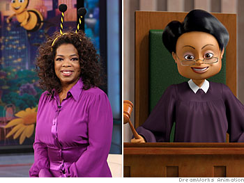 Oprah plays Judge Bumbleden