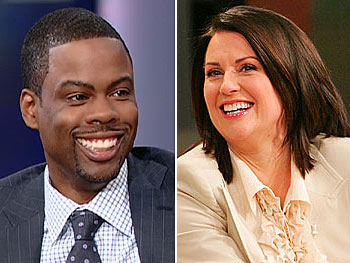 Chris Rock and Megan Mullally make cameos in 'Bee Movie.'