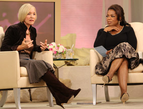 Dr. Northrup and Oprah discuss the importance of balance.