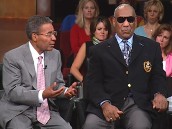 Dr. Alvin Poussaint and Bill Cosby