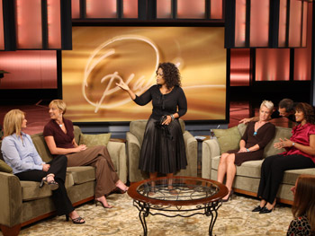 Oprah and show guests