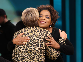 Oprah and Suze Orman