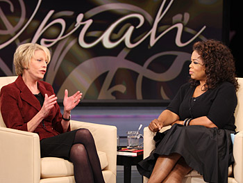 Cathie and Oprah