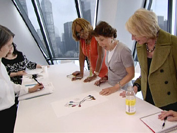 Cathie Black meets with the team from O, The Oprah Magazine.