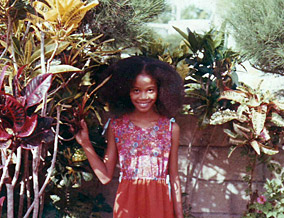 Staceyann Chin grew up in Jamaica.