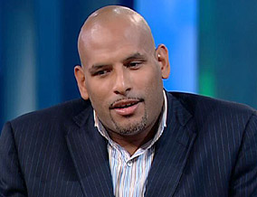 John Amaechi, the first openly gay NBA player