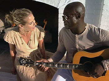 Seal and wife Heidi Klum