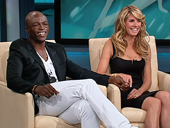 Heidi and Seal share the moment they fell in love.
