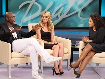 Heidi and Seal talk about balancing work and family.
