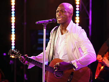 Seal sings 'Amazing,' a song from his album 'System'.