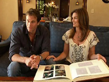 Cindy Crawford and her family photos