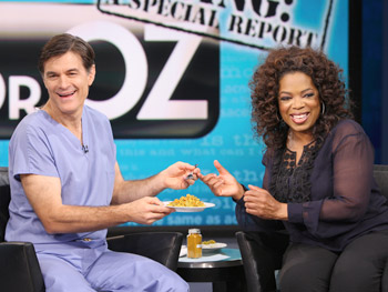 Dr. Oz talks about turmeric.