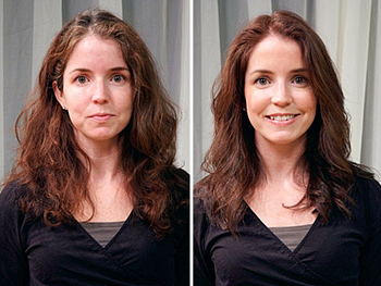 Kara before and after her makeover
