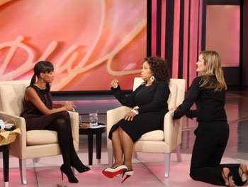 Keisha Whitaker, Oprah and Caroline