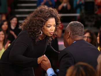 Oprah and Andre Leon Talley
