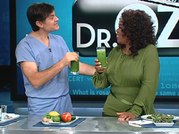 Dr. Oz's green drink