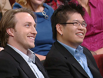 YouTube founders Chad Hurley and Steve Chen