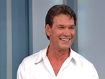 Patrick Swayze talks about what projects he's working on now.