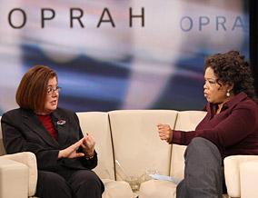 Lisa Bloch Rodwin and Oprah