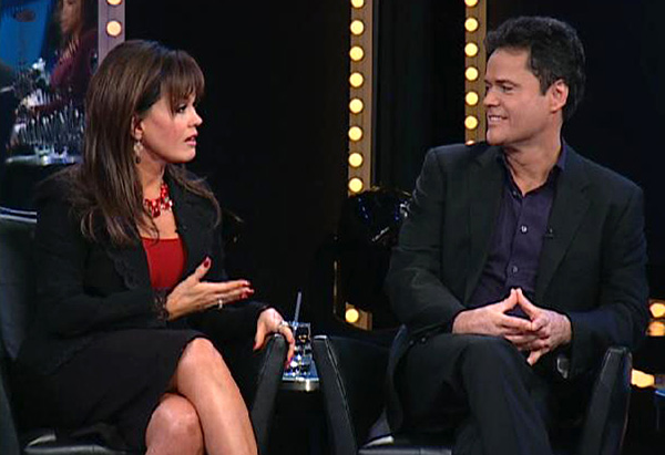 Donny and Marie Osmond remember their father.