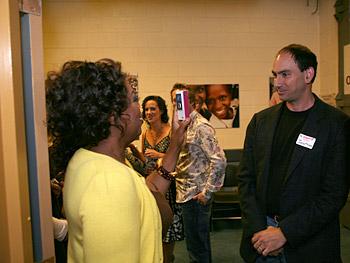 Oprah interviews Jonathan Kaplan.