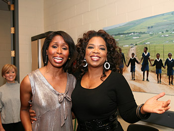 Cenell and Oprah