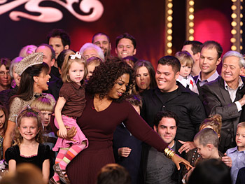Oprah and the Osmond clan