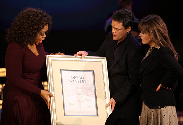 Oprah, Donny and Marie