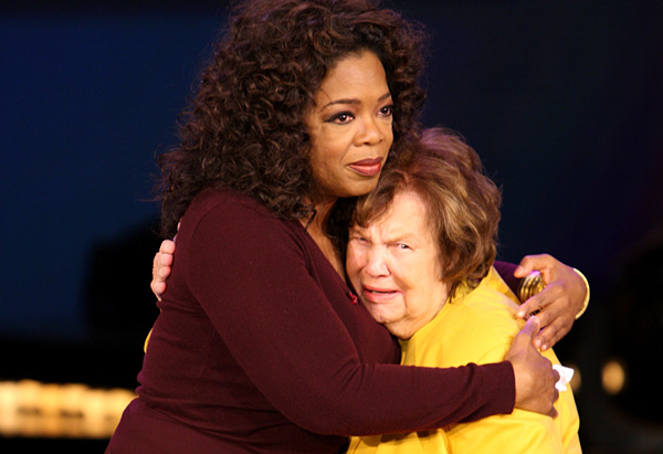 Oprah and Mrs. Duncan