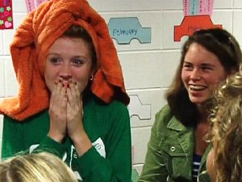 Celine surprises Brittany.