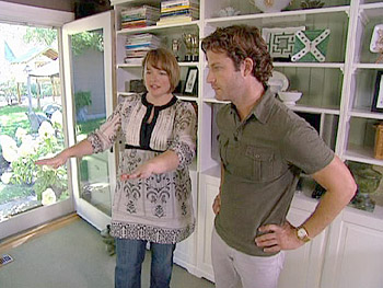 Nate visits Kirsten's European-designed home.