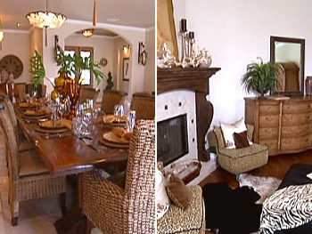 Tonya's home looks like a million bucks.