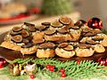 Crostini with Gorgonzola, Honey and Walnuts
