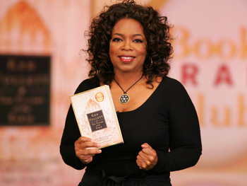 Oprah chooses 'The Pillars of the Earth.'